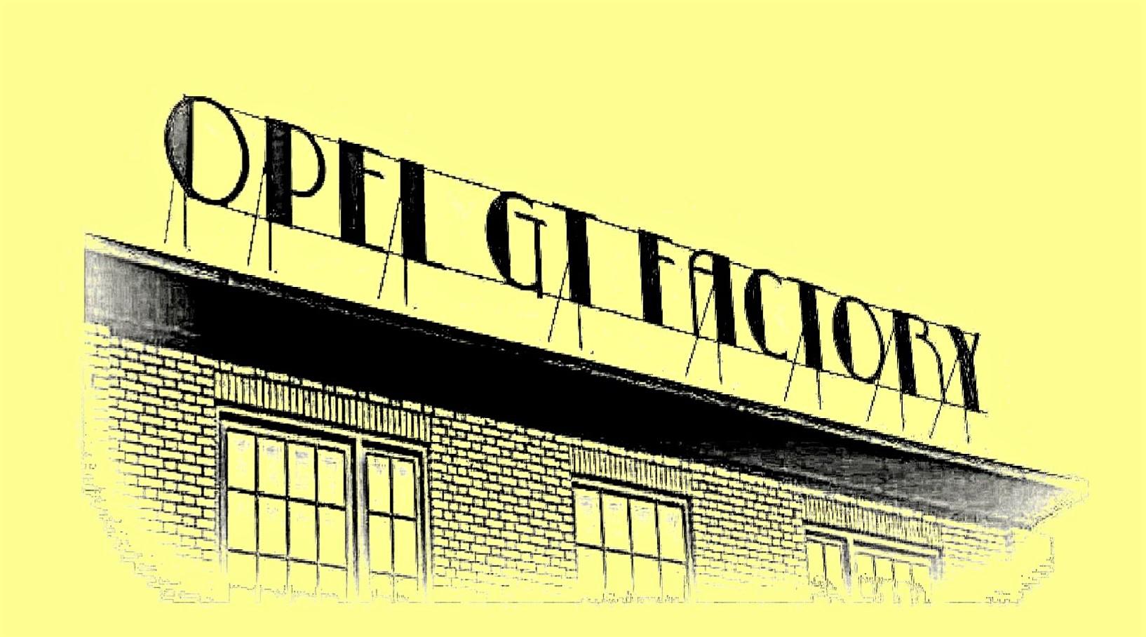 opel gt factory
