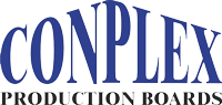 Conplex production boards